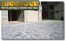Nicolock Pavers and Wallstones